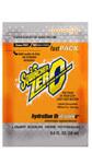 Sqwincher Fast Pack Zero 0.6 oz Orange Liquid Concentrate - 015500-OR