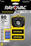 Rayovac Roughneck Headlamp - 80 Lumens White - (3) AAA - RNHL3AAA-BXT