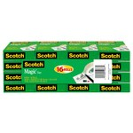 3M Scotch 810K16 Magic Clear Office Tape - 3/4 in Width x 1000 in Length - 52667
