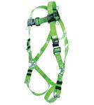 Miller Revolution RPCFD Green Universal Vest-Style Body Harness - Vinyl-Coated Webbing - 612230-18410