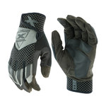 West Chester Extreme Work Knuckle KnoX 89303GY Gray/Black Large Synthetic Leather Work Gloves - Keystone Thumb - 89303GY/L