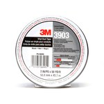 3M 3903 Black Duct Tape - 2 in Width x 50 yd Length - 6.5 mil Thick - 06995