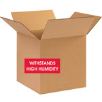 Shipping Supply Kraft Weather-Resistant Boxes - 10 in x 10 in x 10 in - SHP-11578
