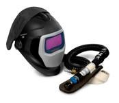 3M Speedglas 25-5802-20SW Welding Respirator - Assembly With Headpiece - Belt-Mounted - 051131-49831