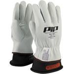PIP 148-1000 White 9 Grain Goatskin Leather Work Gloves - Keystone Thumb - 9.8 in Length - 148-1000/9