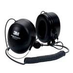 3M Peltor MT7H79B Black Two-Way Radio Headset - 24 dB NRR - 093045-93683