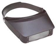 Excelta Three Star Magnifier Visor - 2.2X Magnification - 455A