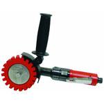 Dynabrade 18258 Autobrade Red DynaZip Eraser Wheel Tool