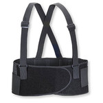 Valeo Black Large Back Support Belt - No Lumbar Pad - 8 in Width - 42 to 52 in Waist Sizes - 736097-00214