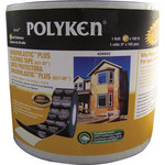 Polyken Shadowlastic Black Flashing Tape - 4 in Width x 100 ft Length - 20 mil Thick - 627-20 4 X 100FT BLACK