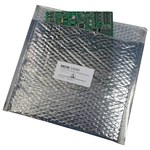 SCS 2300R Series Silver Static Shield Bag - 10 in Length - 12 in Wide - 3.8 mm Thick - 2301012