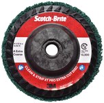 3M Scotch-Brite Clean & Strip XT Pro Extra Cut Disc - Aluminum Oxide - 4 1/2 in Diameter - Type 27 Quick Change