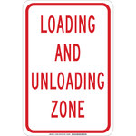 Brady B-555 Aluminum Rectangle White Traffic Control Sign - 12 in Width x 18 in Height - 129588