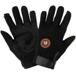 Global Glove Hot Rod HR9000 Black 2XL Synthetic Leather Work Gloves - HR9000/2XL