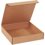 Shipping Supply Kraft Literature Mailers - 9 in x 9 in x 2 in - SHP-2714