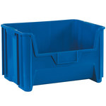 Blue Stackable Bins - 19.875 in x 15.25 in x 12.4375 in - SHP-3027