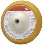 3M Hookit 05768 Soft Disc Pad - 8 in DIA - 1 in Thick - Hook & Loop Thread Attachment