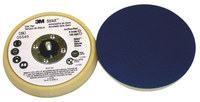 3M Stikit 05545 Soft Beige PSA Disc Pad - 5 in Diameter - 11/16 in Thick - 5/16-24 External Thread Attachment