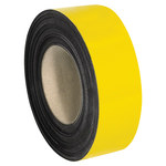 Shipping Supply Yellow Magnetic Label Roll - 100 ft x 2 in - SHP-12208