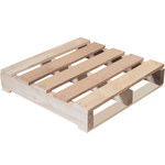 Shipping Supply Natural Wood Recycled Pallet - 24 in x 24 in - SHP-12343