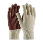 PIP 38-N2110PC Red/White Large Cotton/Polyester/Knit General Purpose Gloves - Nitrile Palm Only Coating - 9.8 in Length - 38-N2110PC/L