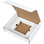 Shipping Supply Oyster White CD Literature Mailer Kits - 11.125 in x 8.75 in x 3 in - SHP-2812