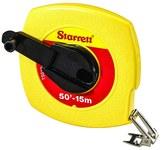 Starrett TS 50 ft Long Line Tape - 3/8 in Width - ABS Plastic - 30619