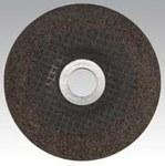 Dynabrade Standard (Type 27) Alumina Zirconia Depressed-Center Wheel - 4 1/2 in Diameter - 7/8 in Center Hole - 79390