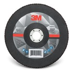 3M 769F Coated Type 27 Aluminum Oxide/Ceramic PSG Purple Flap Disc - 60+ Grit - Medium - 7 in Diameter - 7/8 in Center Hole - 05910