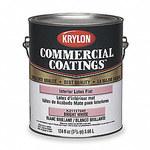 Krylon Commercial Coatings K2111 White Matte Latex Paint - 1 gal Pail - 02858