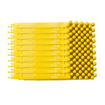 Brady Yellow Plastic Non-Adhesive Tamper-Evident Truck Seal - 7 1/2 in Length - 754476-95196