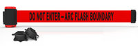 Banner Stakes Red Wall Mount Magnetic Belt Barrier - BANNER STAKES MH7010