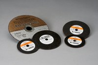 Standard Abrasives 646340 A/O Aluminum Oxide AO Cutoff Wheel - 4 in Diameter - 3/8 in Center Hole - 1/16 in Thickness - 01820
