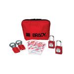 Brady Red Padlock Kit - 754476-03486