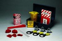 Brady Prinzing Gray Polyethylene Lockout/Tagout Kit - 5 in Depth - 12 in Width - 7 in Height - 754476-45618