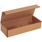 Shipping Supply Kraft Corrugated Mailers - 10 in x 4 in x 2 in - SHP-11629