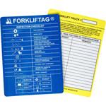 Brady Forkliftag FLT-ETSI 583 Forklift Tag Insert - 14390