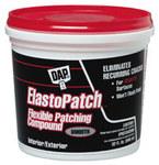 Dap Elastopatch Filler White Paste 10.1 fl oz Cartridge Smooth Flexible Patching Compound (RTU); White - 12276