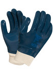 Ansell Hycron 27-602 Blue 9 Jersey Chemical-Resistant Gloves - Rough Finish - 205870