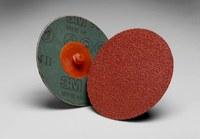 3M Cubitron II 982C Coated Ceramic Quick Change Fibre Disc - Fiber Backing - 60 Grit - Medium - 4 in Diameter - 66785