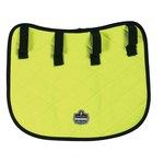 Ergodyne Chill-Its 6670 Hi-Visibility Lime Nylon Neck Shade/Shield - Inner Cap/Hat - 720476-12525
