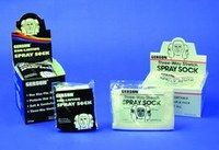 Gerson White Universal Cotton Spray Sock - Painter's Spray Sock - Pullover Fitting - GERSON 070295 SPR SOCK