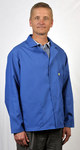 Tech Wear Large Blue Lapel ESD / Anti-Static Jacket - 361ACS-L