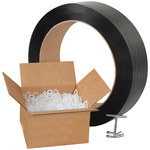 White Poly Strapping Kits - 9000 ft x.5 in - SHP-7314