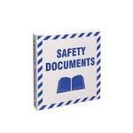 Brady Blue on White MSDS & GHS Data Sheet Binder - SAFETY DOCUMENTS - English - 754476-45335