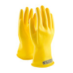 PIP Novax 170-00-11 Yellow 9 Rubber Work Gloves - 11 in Length - Smooth Finish - 170-00-11/9