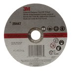 3M COW Aluminum Oxide Cutoff Wheel - Type 1 (Straight) - 6 in Diameter - 7/8 in Center Hole - 0.045 in Thickness - 20447