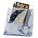 SCS 1900 Series Translucent Metal-In Bag - 10 in Length - 8 in Wide - 2.8 mil Thick - 190810