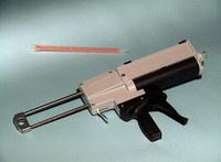Devcon 2-Part Applicator Gun - Supports 400 ml Cartridge - Manual - 4:1 Mix Ratio - 15043