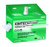 Kimberly-Clark Kimtech Kimwipes White Non-Silicone Lens Cleaning Station - 560 Tissues/Towelettes - Anti-Fog, Anti-Static - 036000-34623